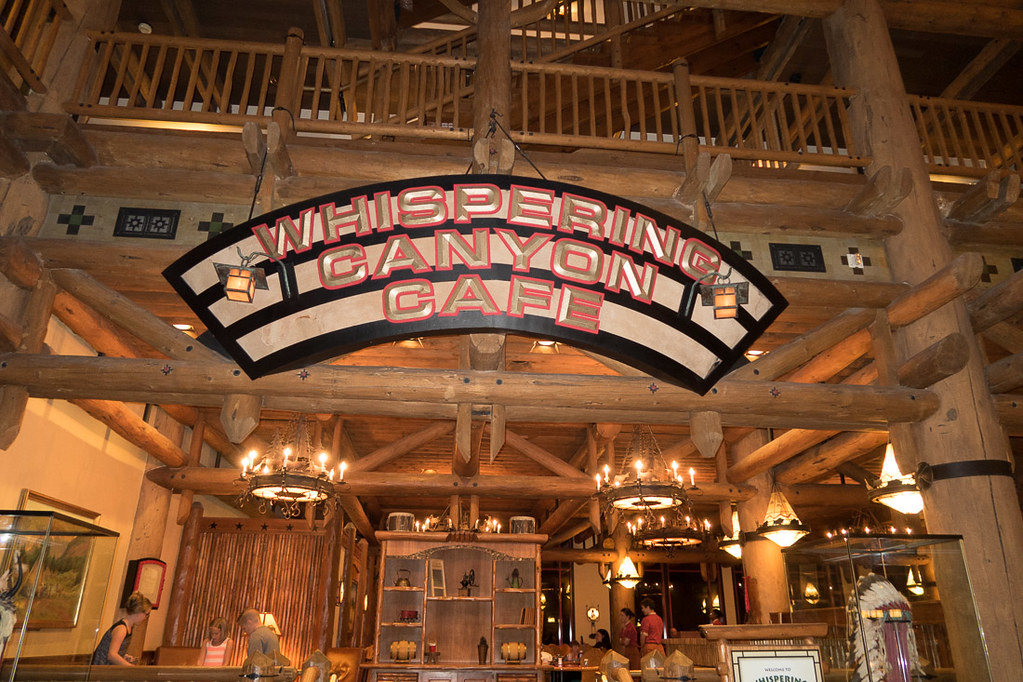 Sign for Whispering Canyon Cafe
