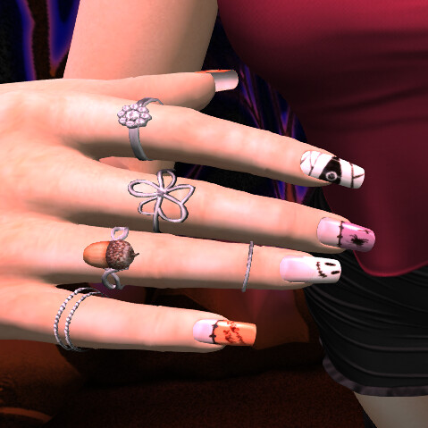 ASU - Witcheryrings-nails