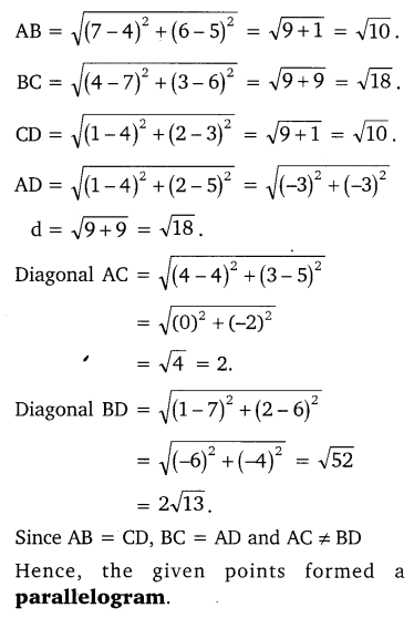 NCERT Solutions for Class 10 Maths Chapter 7 Coordinate Geometry 10
