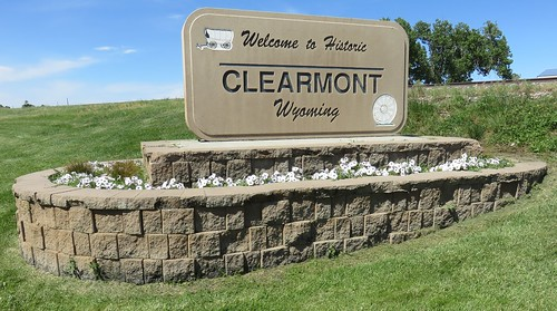Welcome to Clearmont Sign (Clearmont, Wyoming)