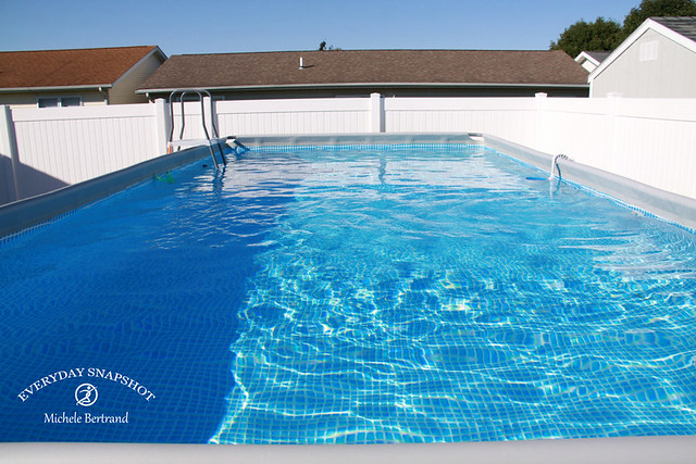 Intex 24'x12'x52″ Rectangle Pool with Saltwater System