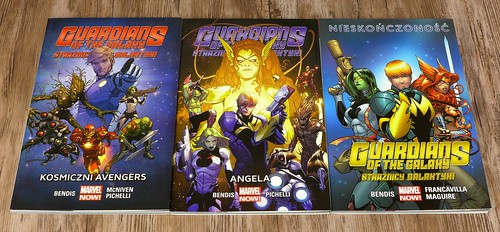 Guardians of the Galaxy 1-3