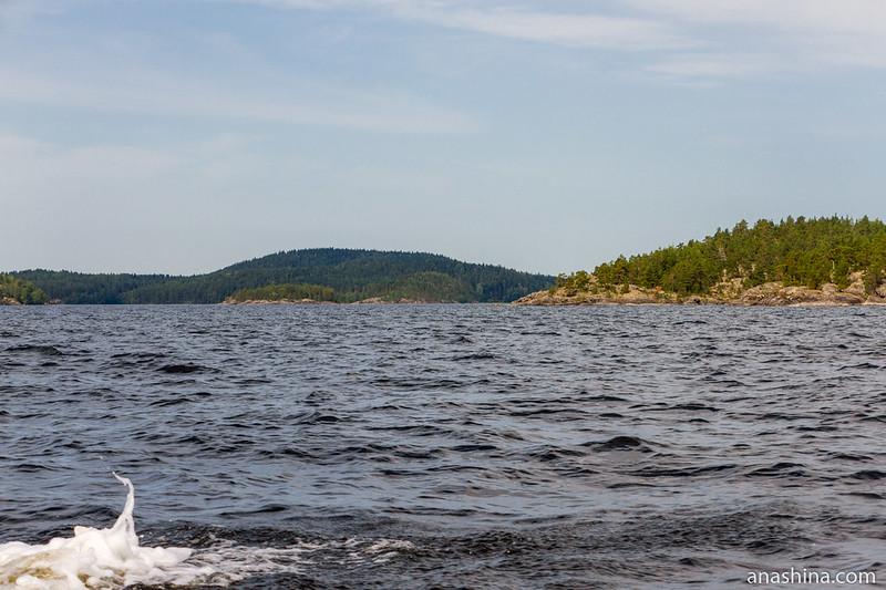 Пролив Маркатсимансалми, Ладожское озеро