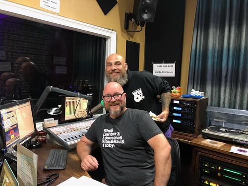 Murf Reeves and DJ Swamp Boogie at WWOZ - 10.22.18.