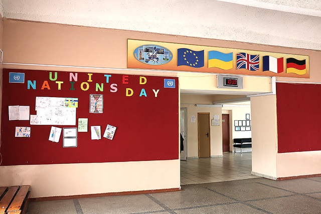 EUAM visits school 118 in Kyiv