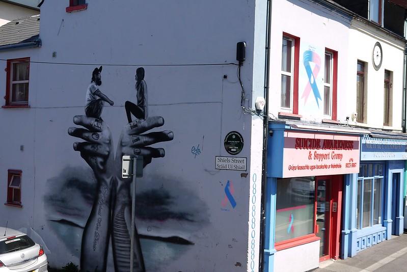 Mural West Belfast