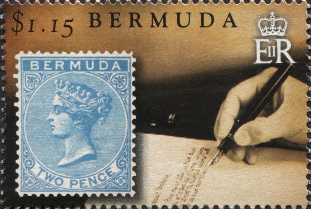 Bermuda - Scott #1105 (2015)