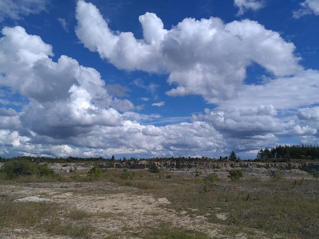 Koguva dolokivikarjäär / Koguva dolostone quarry, Estonia