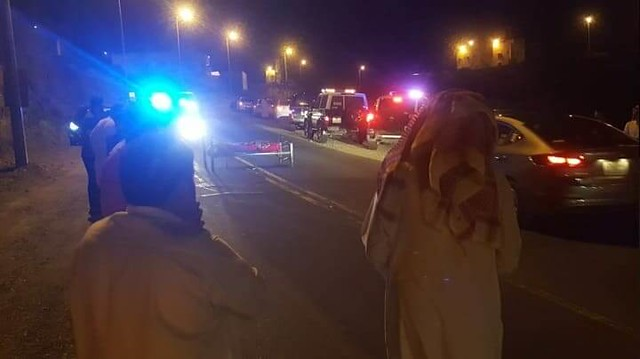 4704 A dead body was found in the middle of the highway in Abha 02