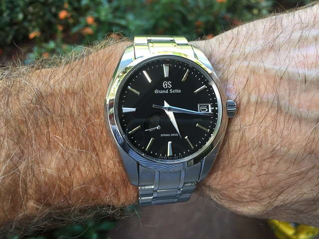 Grand Seiko black dial 1