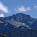 """Mountain near Montreux, """"Rochers de Naye"""" and at left the """"Cubly""""."""