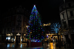 Christmass tree at the Spire