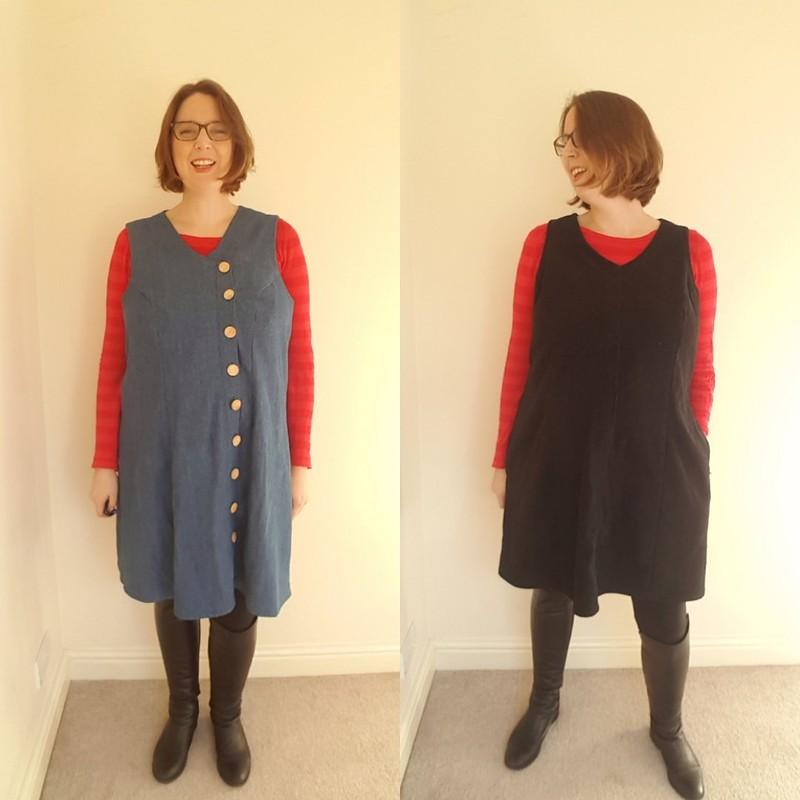 Comparison of the 2 dresses