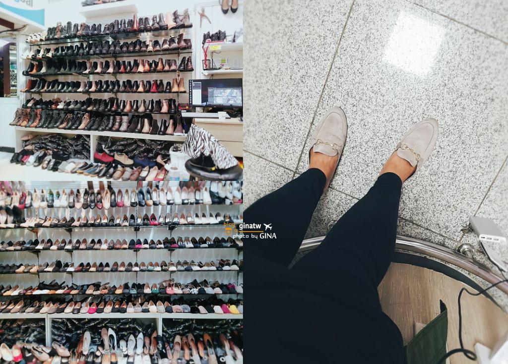 濟州島購物血拼》中央地下街 美妝/大衣/保暖流行衣物、鞋子+觀德亭 관덕정/중앙지하상가 @Gina Lin