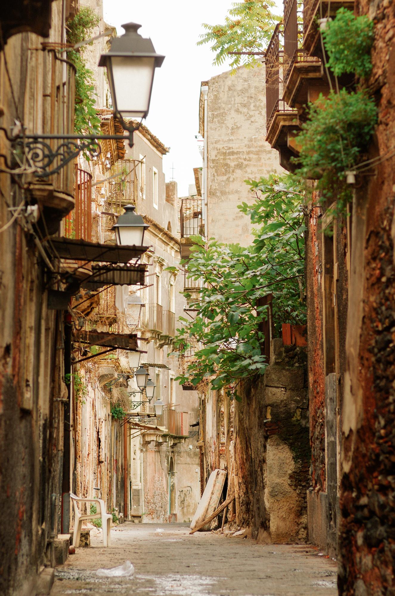 Catane - la vieille ville