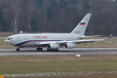 RA-96012 Ilyushin Il-96 Rossiya Special Flight @ Zürich-Kloten ZEH LSZ