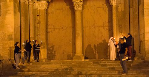 FMJ 25 ans à Vézelay Vigiles des Pèlerins de St Jacques de Compostelle