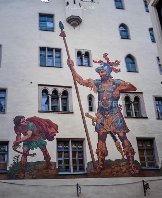 Regensburg en un día · Regensburg · Casa de Goliat ·
