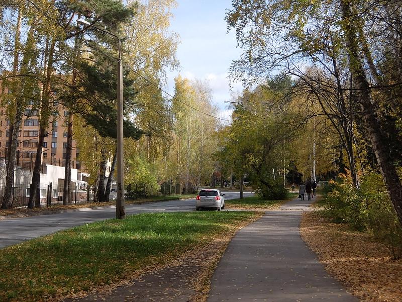 Новосибирский академгородок - Улица Терешковой