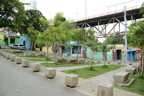Casi listo el Parque Ecológico y Fluvial La Barquita; lo que era marginalidad, ahora es un pulmón en SDE