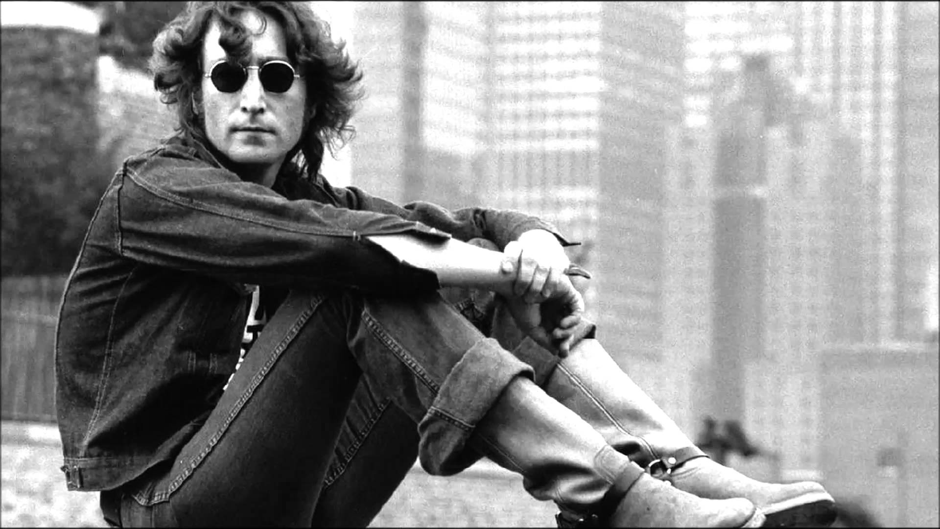 John Lennon in New York City, circa 1972.