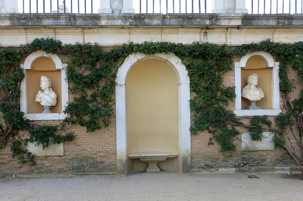 Jardines de Aranjuez el 9 de octubre de 2018