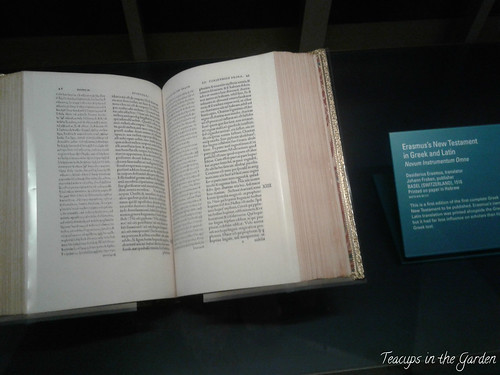 30-1516 Erasmus New Testament in Greek and Latin