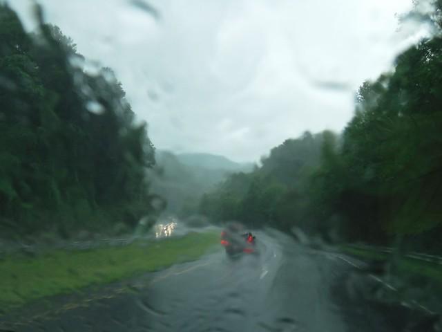 North Carolina in the Rain