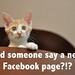 Facebook page by nfinkbeiner