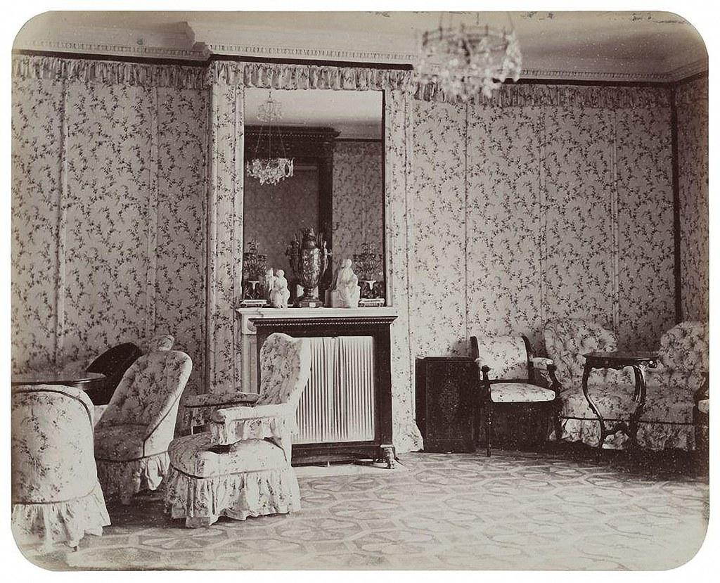 Останкинский дворец. Будуар императрицы. 1868-1870