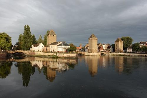 Petite France in Strasbourg: Barrage Vauban, Ponts Couverts ...