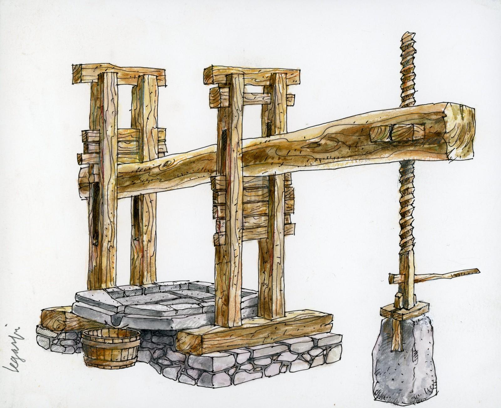 Lagar de La Queipa (dib.2)