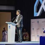 Umberto de Pretto during Plenary session 1 at IRU World Congress