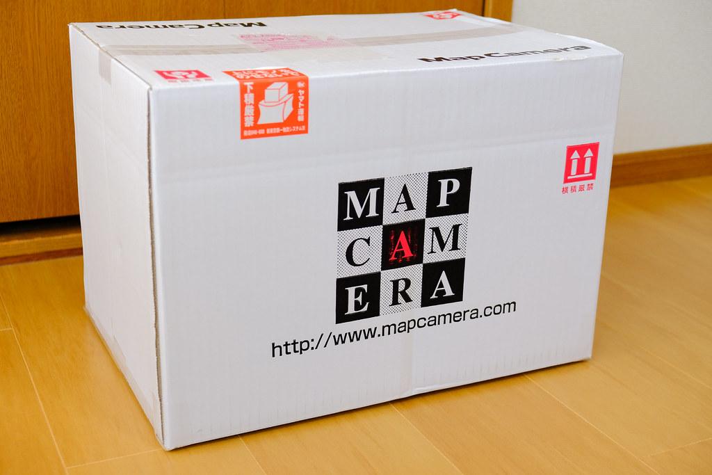 Map Camera ワンプライス買取 梱包