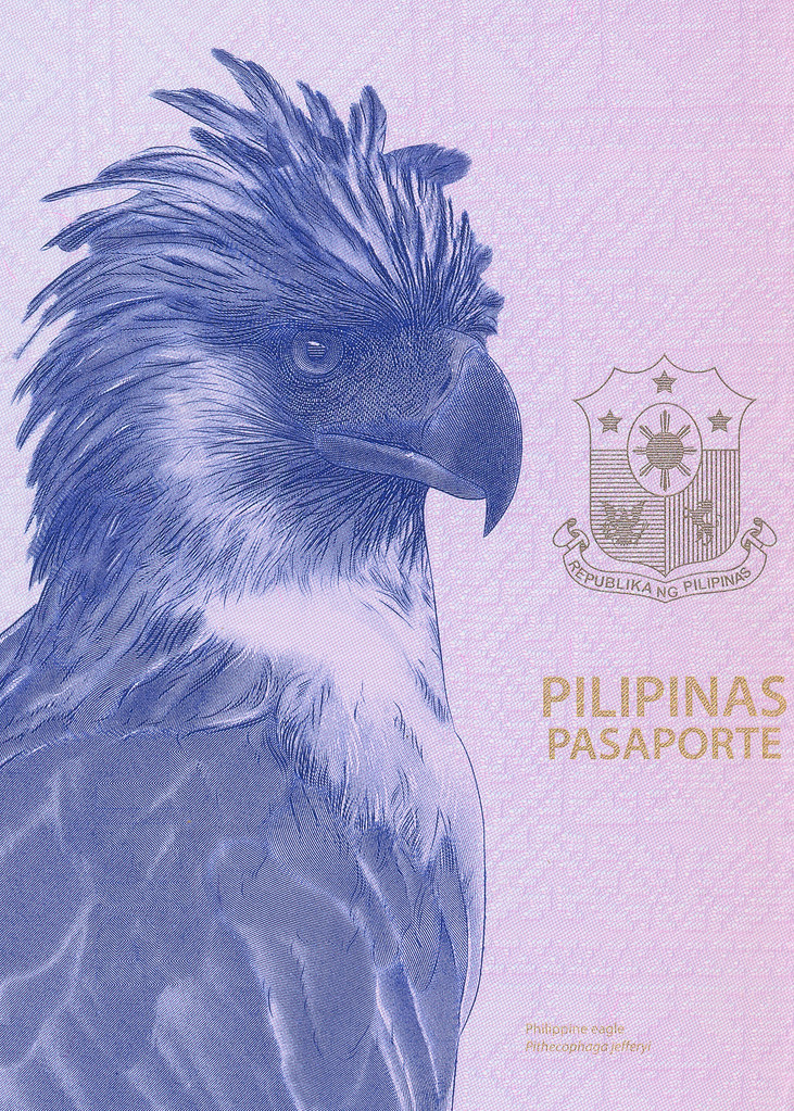 Philippine Eagle - Philippine Passport