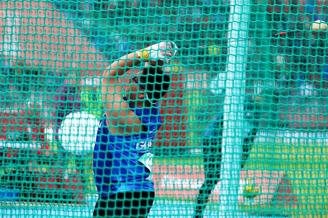 Estreno de Rodrigo Gaitán en el atletismo de Buenos Aires 2018