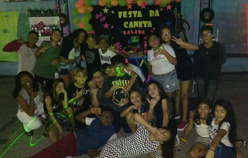 Festa da Caneta - Balada Neon - Dia 28/09