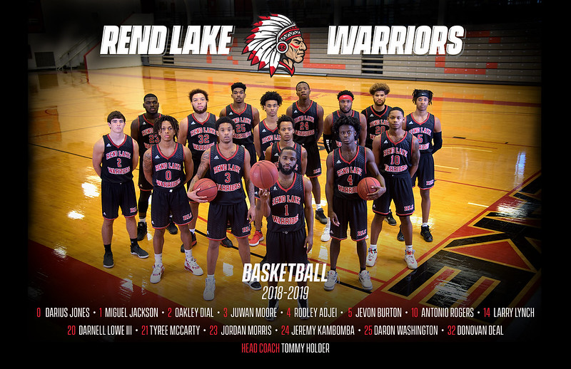 Rend Lake College Men's Basketball 2018-2019