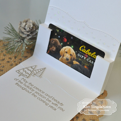 Taylored Expressions Gift Card Pop Up