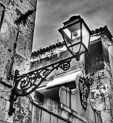 Old street lamp, Lisboa