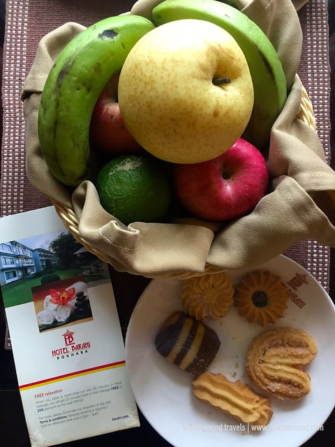 Welcome Treats at Hotel Barahi Pokhara