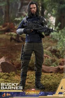 全新的機械手臂實在太帥啦~ Hot Toys - MMS509 -《復仇者聯盟3:無限之戰》巴奇·巴恩斯 Bucky Barnes 1/6 比例人偶作品