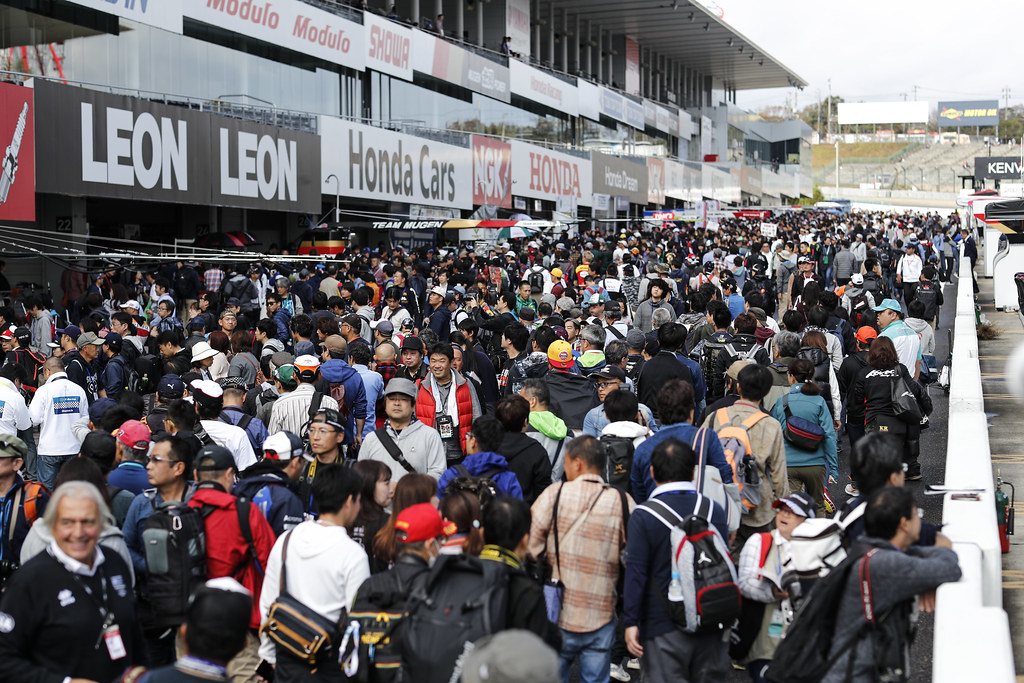 foule crowd during the 2018 FIA WTCR World Touring Car cup of Japan, at Suzuka from october 26 to 28 - Photo Clement Marin / DPPI