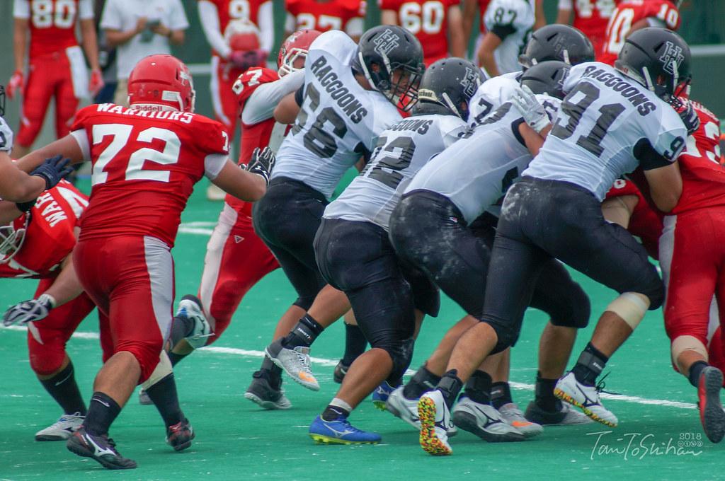 中四国学生アメリカンフットボールリーグ戦 島根大8-13広島大