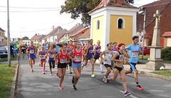 Pospíšilová a Hochman zvítězili v tréninkovém tempu v posledním ročníku Tučapské desítky