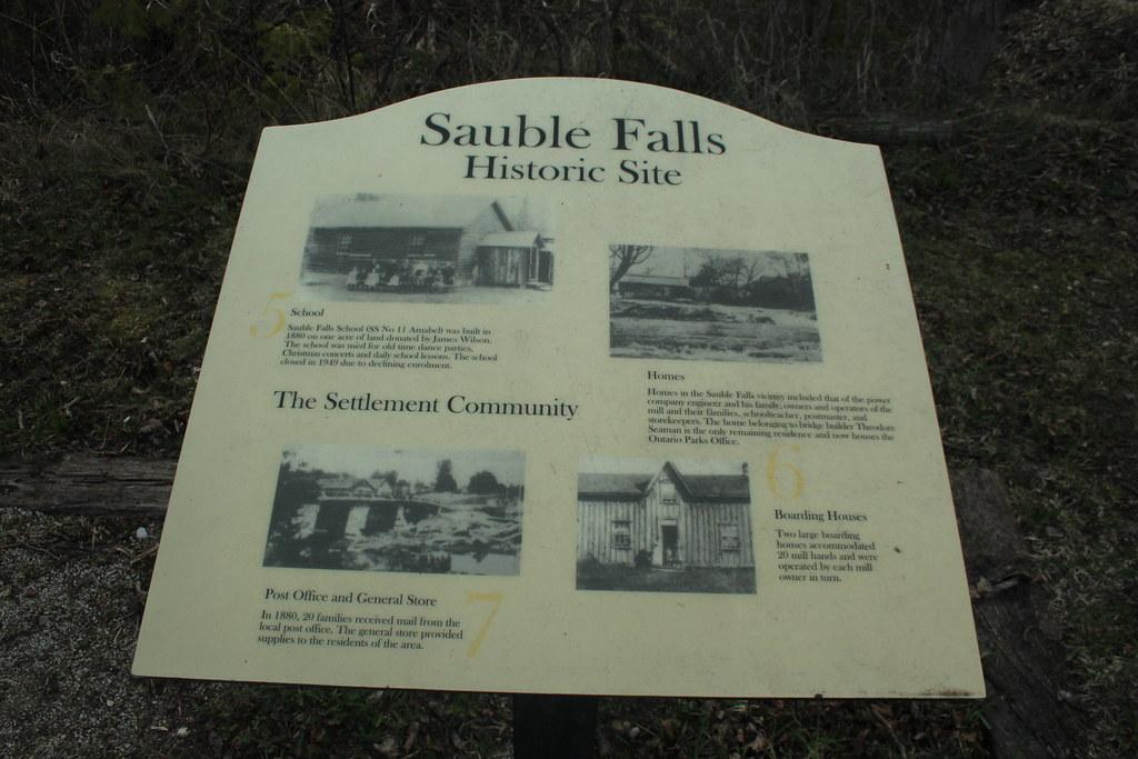 Sauble Falls PP Historic Site