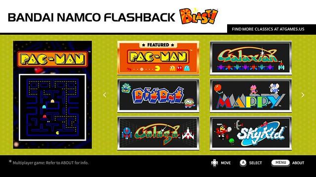Menu-Bandai Namco pg.1
