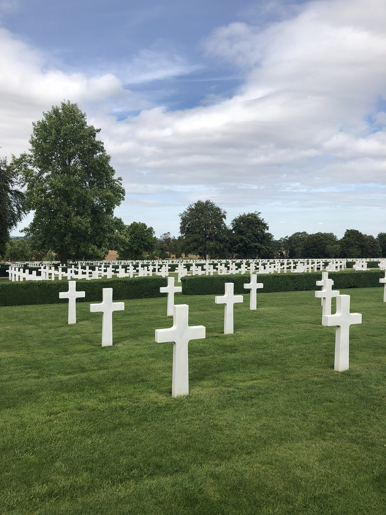 Cambridge American Cemetery august
