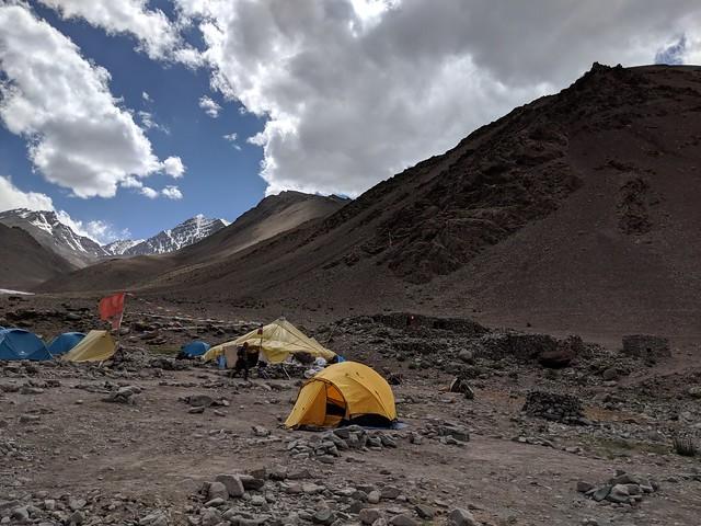 Camp 1, Manokarma at 4350m