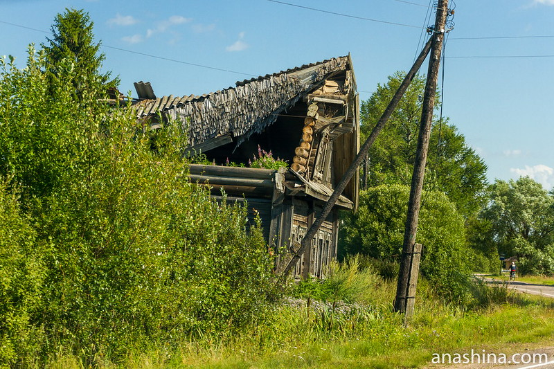 Погибающий дом, Карелия